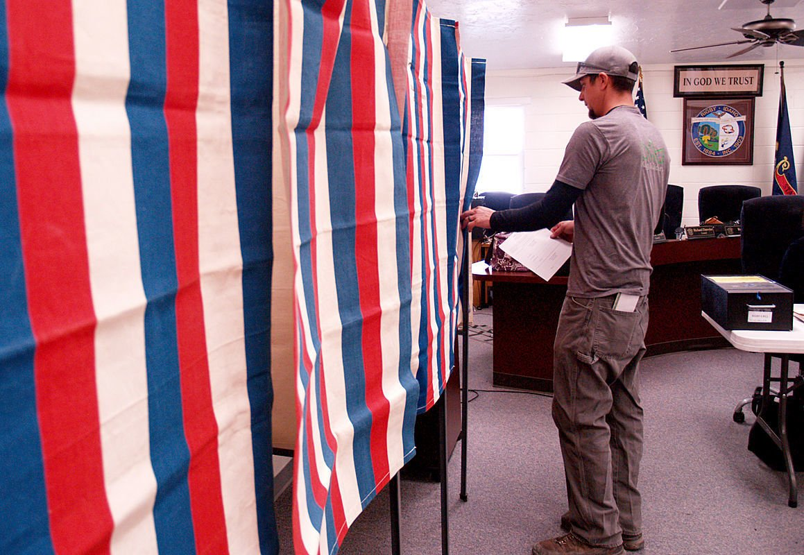 Election results for Clark and Jefferson counties
