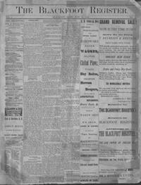 A BIT OF HISTORY: Thanksgiving in Blackfoot more than 100 years ago