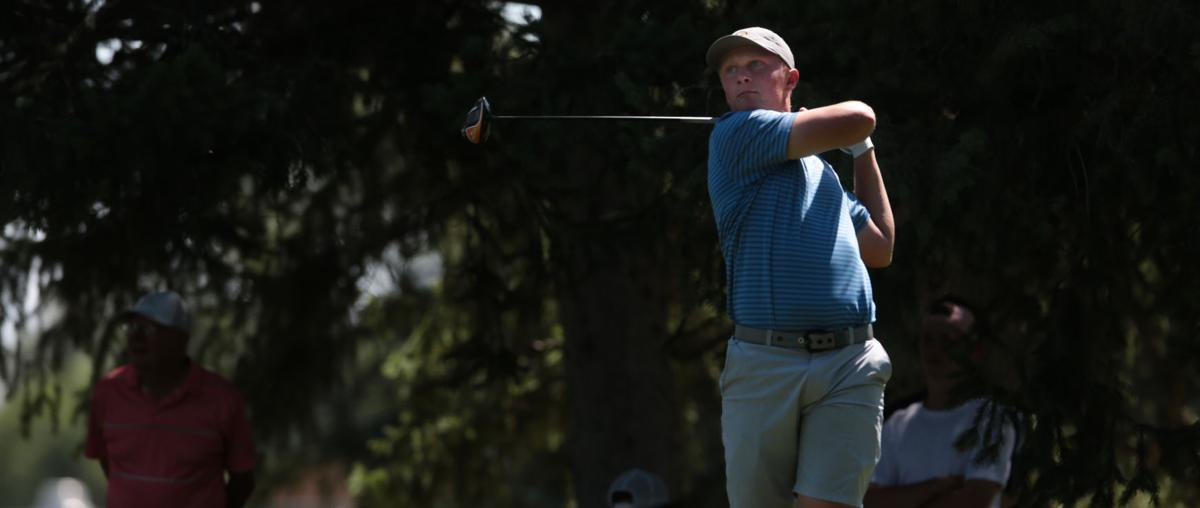 Martin takes home 3rd second-place trophy at windy Idaho Golf Association Junior Amateur Championships