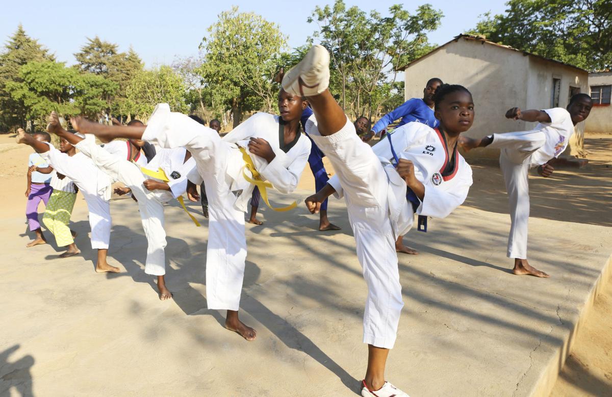 Zimbabwe Taekwondo Girls