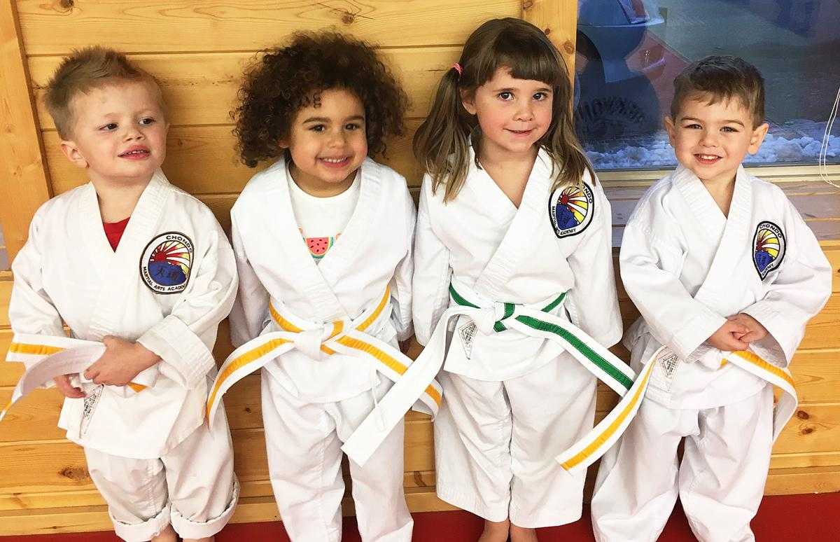 Youths promoted after martial arts testing
