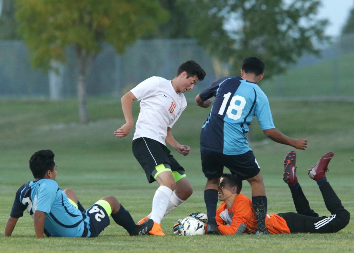 Boys soccer Idaho Falls Skyline