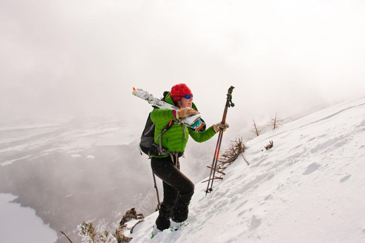 Backcountry Skiing in Wyoming