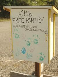 Tiny food pantries help with food insecurity in Salmon