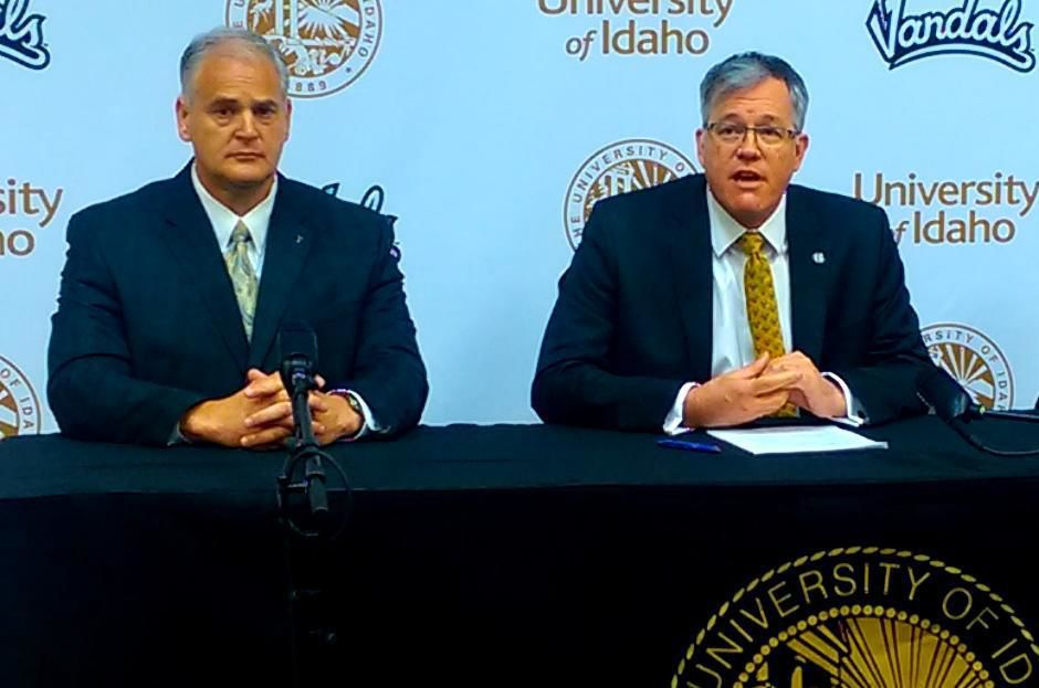 Spear is out as AD at Idaho