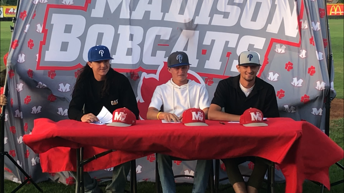Madison trio signs to play together in Montana
