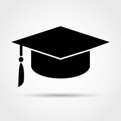 Graduation cap / Diploma and Hat Icon