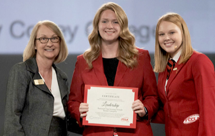RHS student takes first at national FCCLA competition