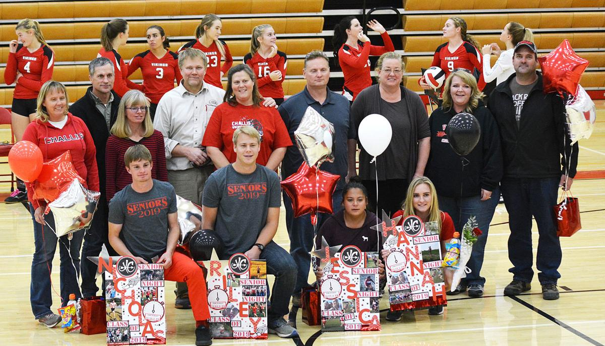 Senior cross country runners honored