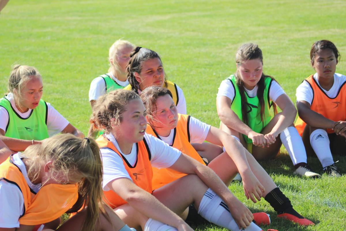 Shelley Lady Russets receive instruction from world renowned coach