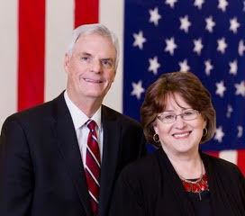 Sen. Brent Hill and wife Julie