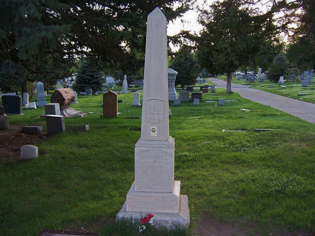 Porter Rockwell's Grave