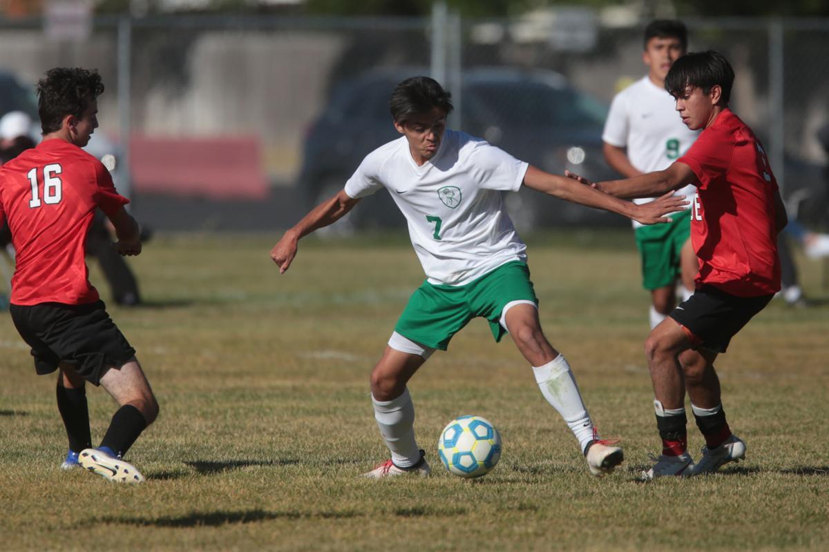 Hillcrest vs Blackfoot soccer