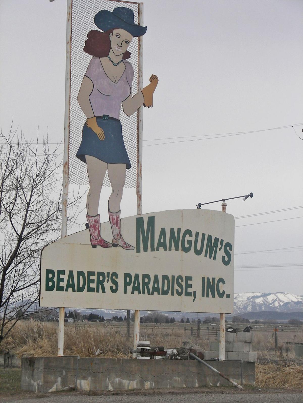 Mangum's sign