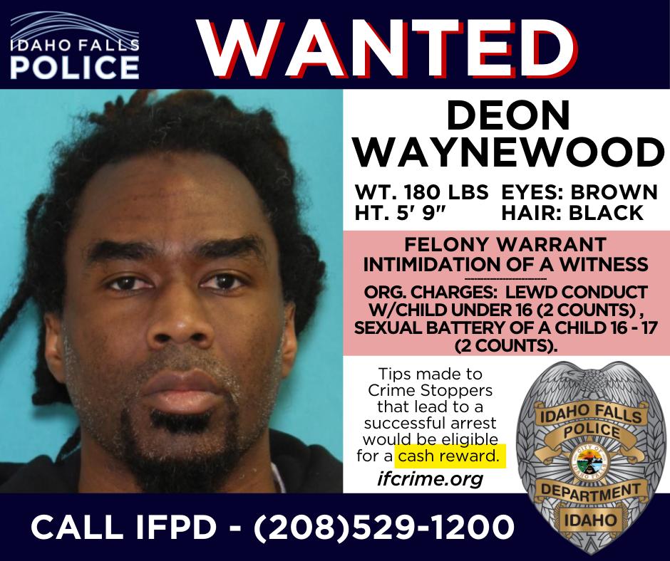 Deon Waynewood wanted poster