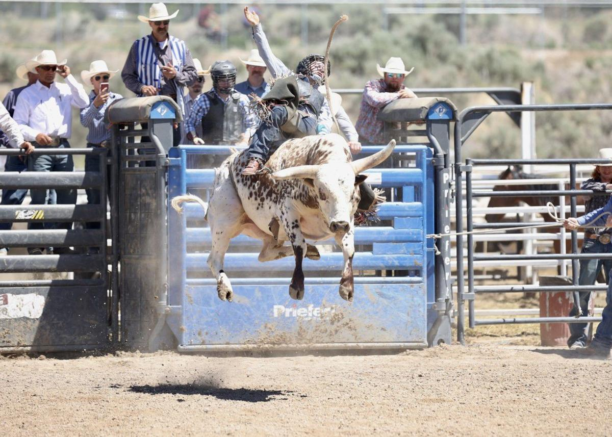 HIGH SCHOOL RODEO: Cooper Cooke, now a three-time state champ, is ready to move upward and onward