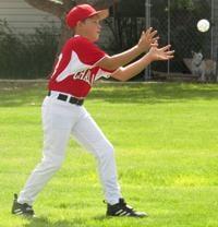 Baseball attracts nearly 2 dozen Challis youths