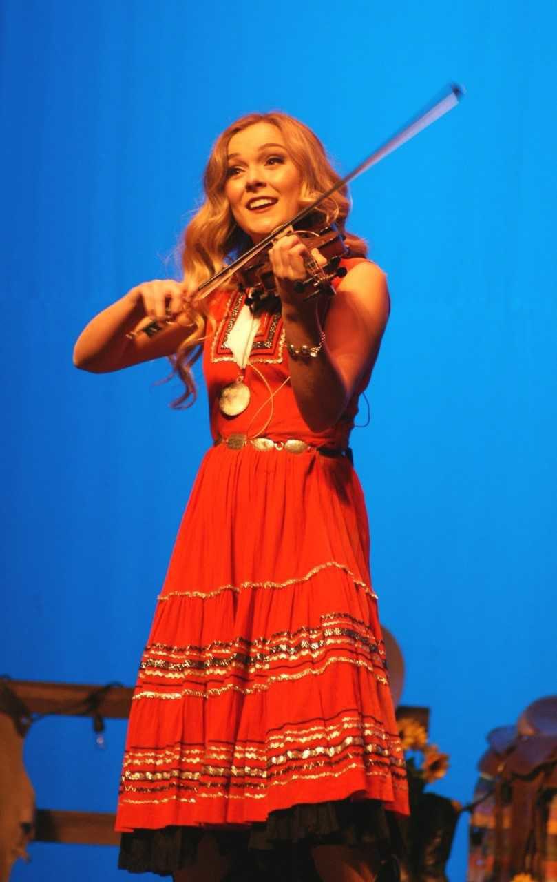 Grace Christensen fiddle