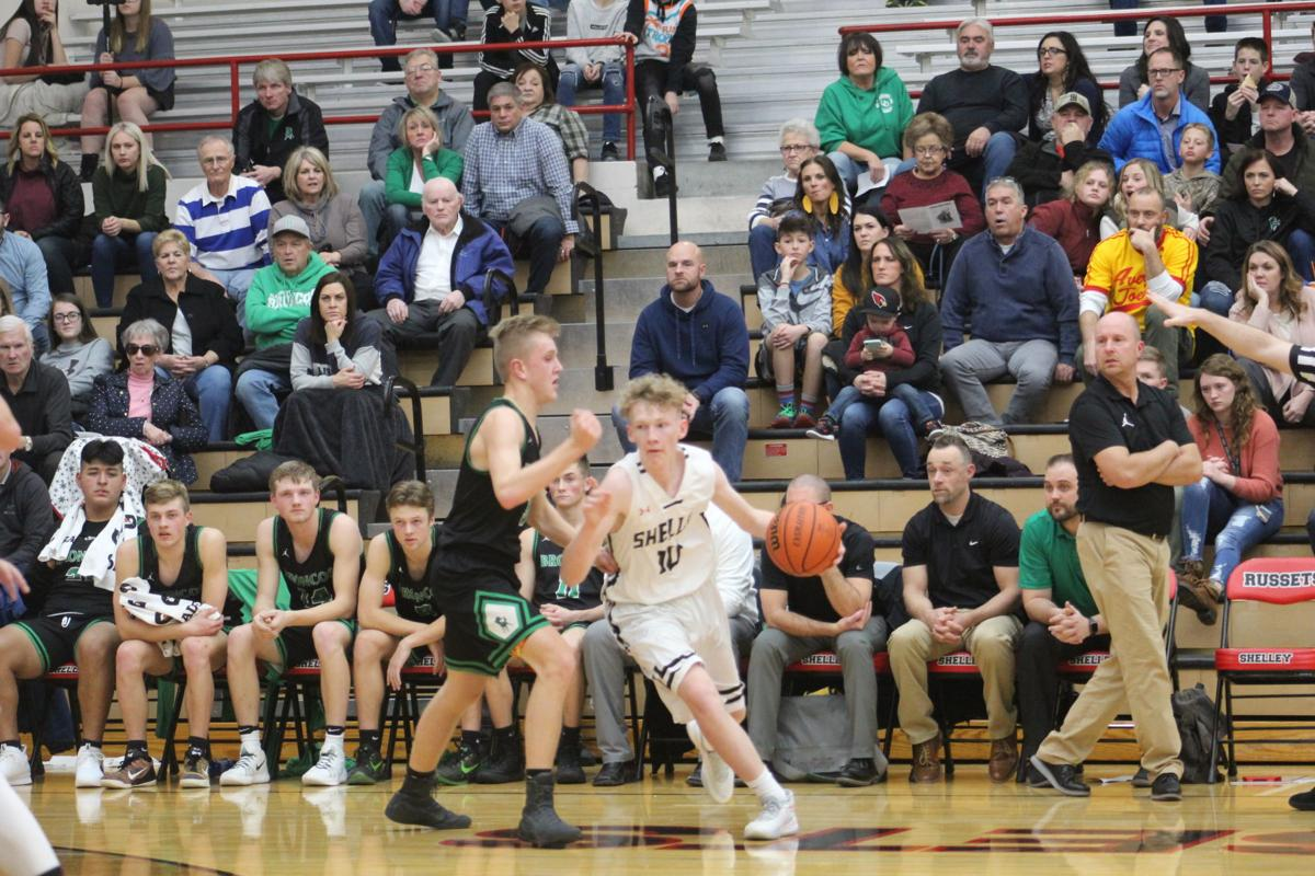 Blackfoot edges clear of Shelley in fourth quarter