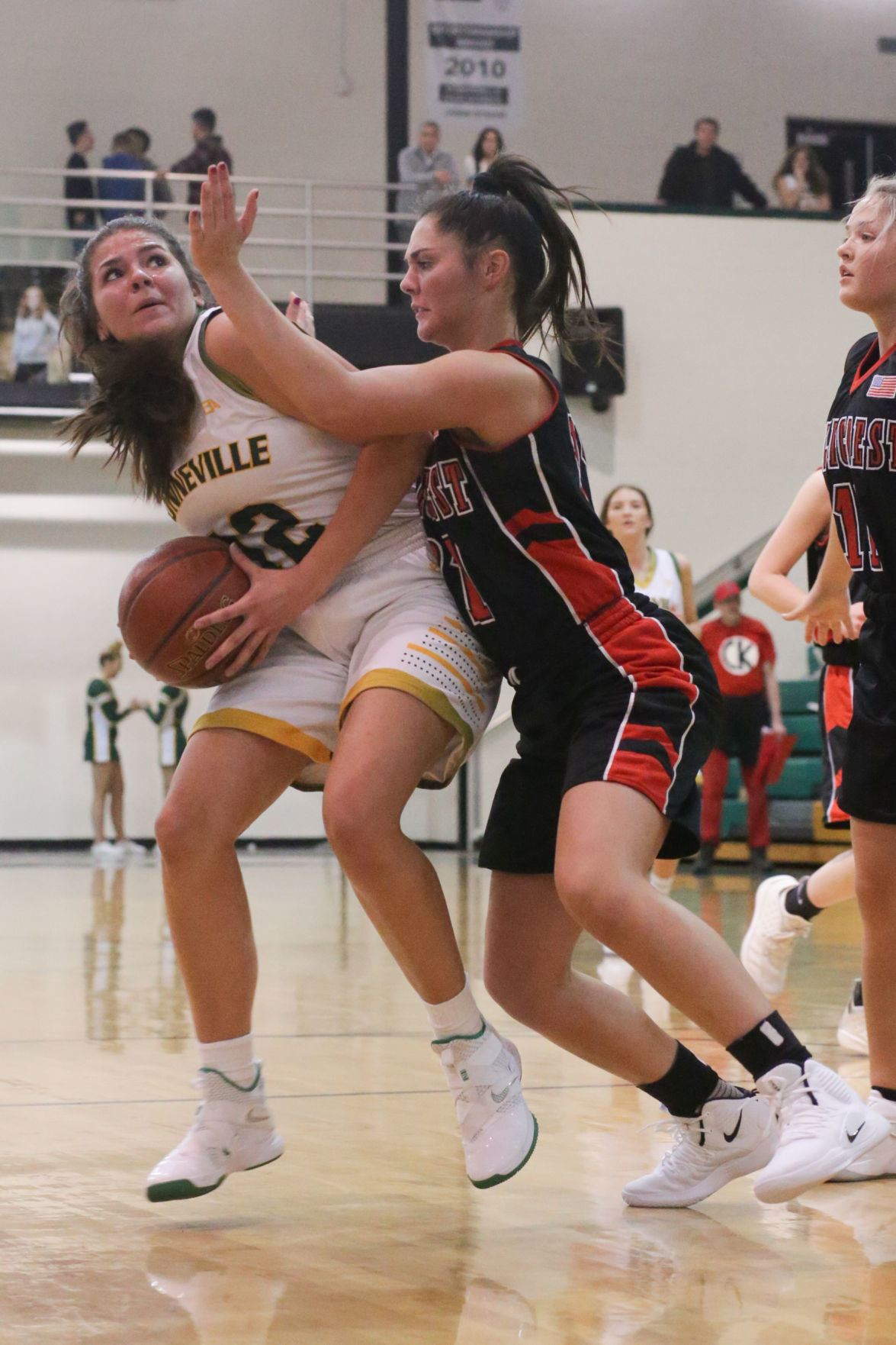 Bonneville vs Hillcrest girls basketball