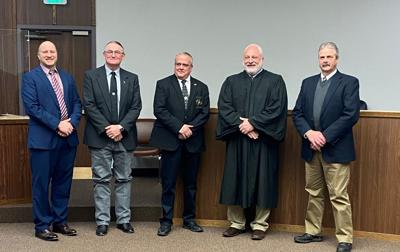 County Officials sworn into office