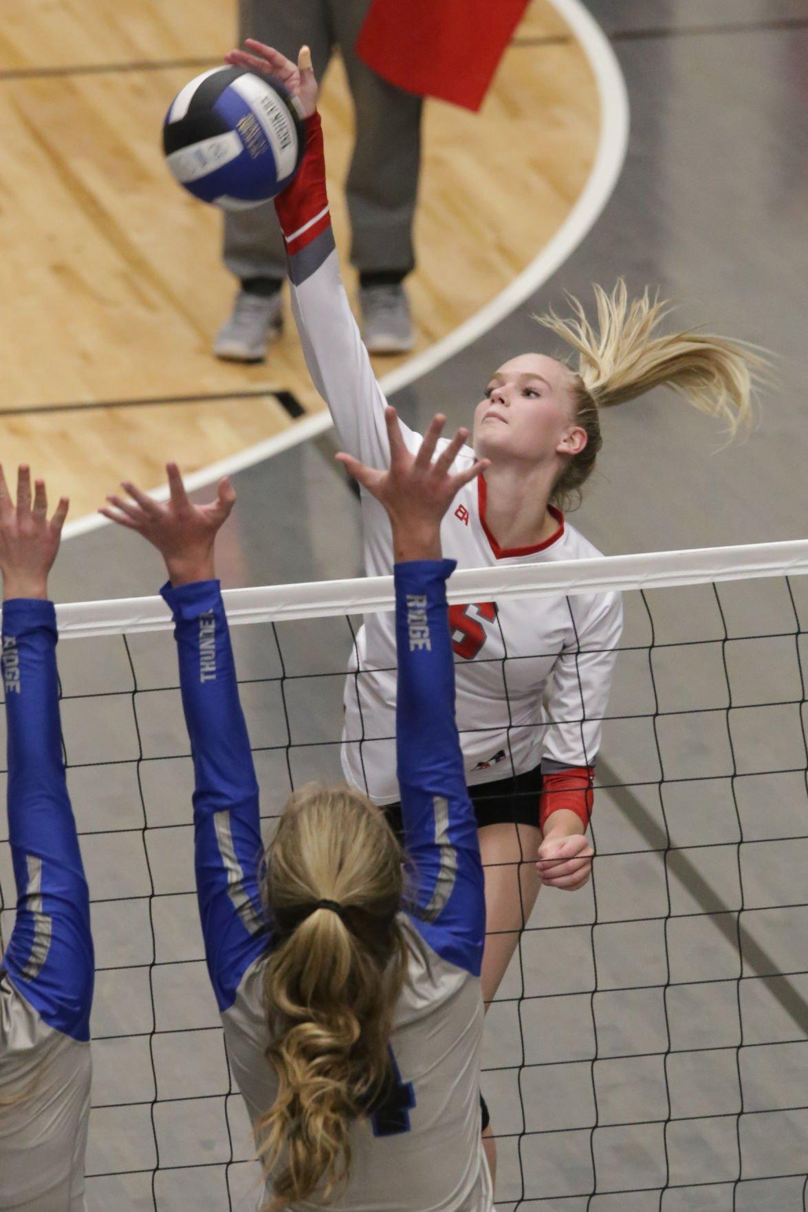 Thunder Ridge vs Madison volleyball