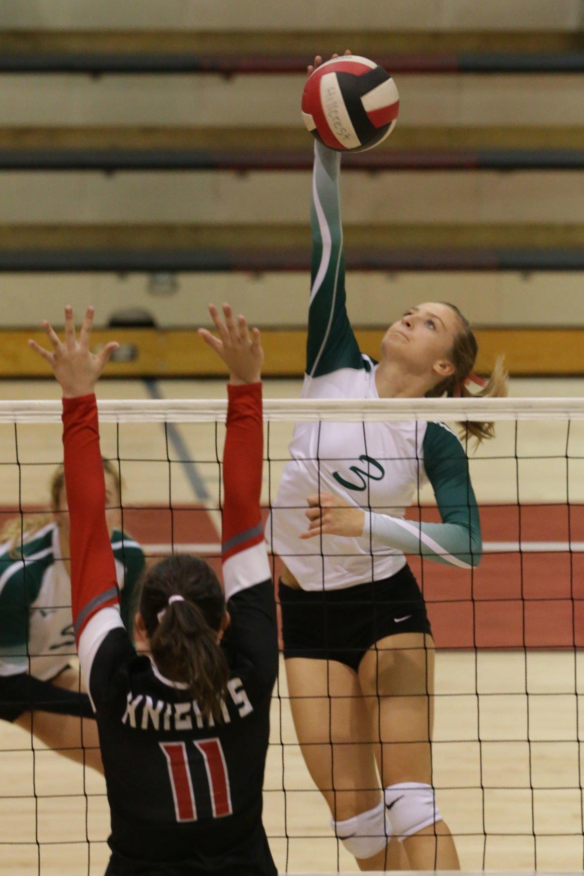 Hillcrest vs Bonneville volleyball