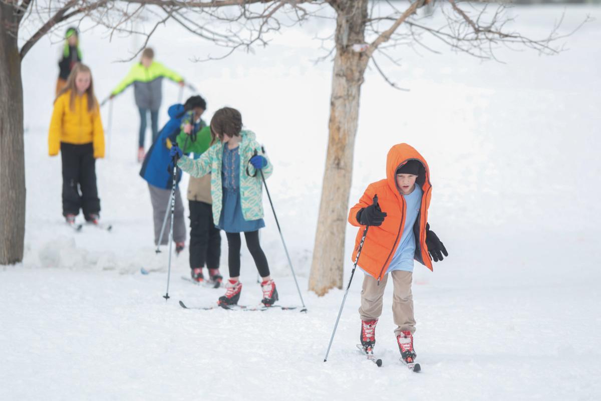Rimrock skiing