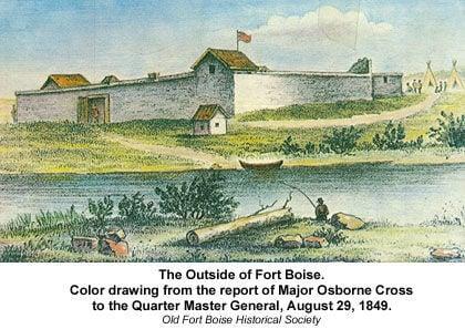 Oregon Trail - Fort Boise
