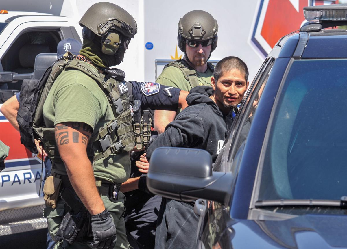 Samiir Blade Afraid of Bear arrested