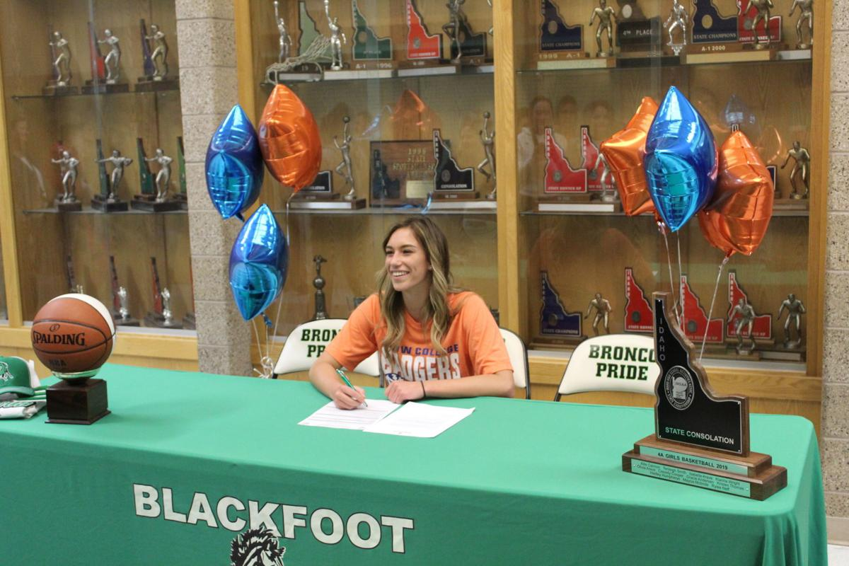 Blackfoot's Olivia Arave to continue basketball career at Snow College