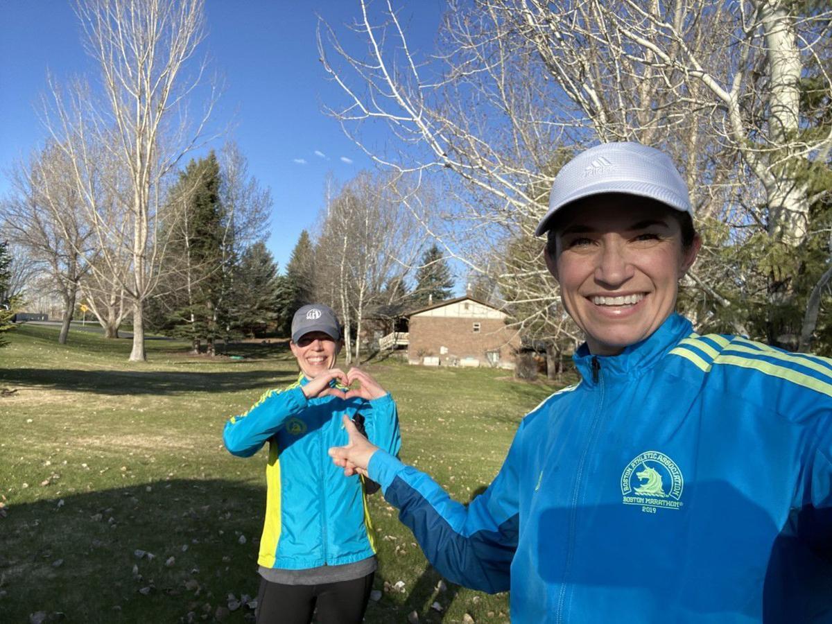 Local woman to run Virtual Boston Marathon in Rexburg with her 77-year-old dad