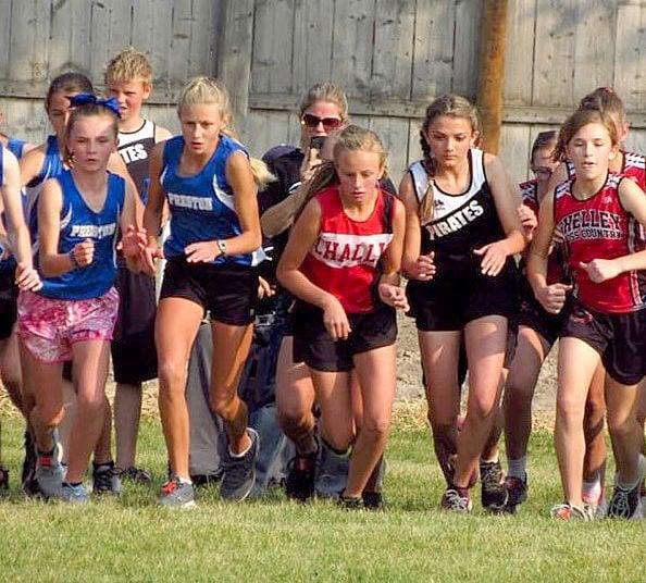 Cross country athletes travel Idaho to race