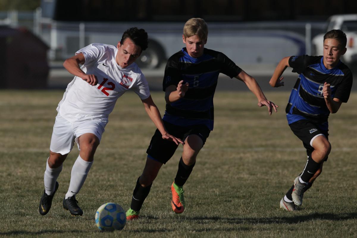 Thunder Ridge vs Madison boys soccer