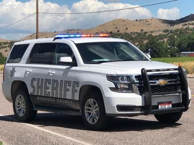bannock sheriff SUV