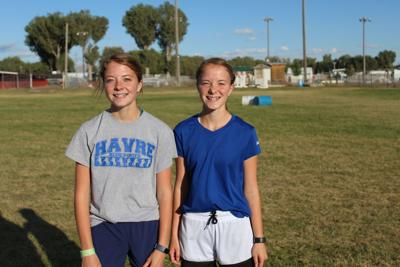 Twin sisters on same course in Snake River Cross Country