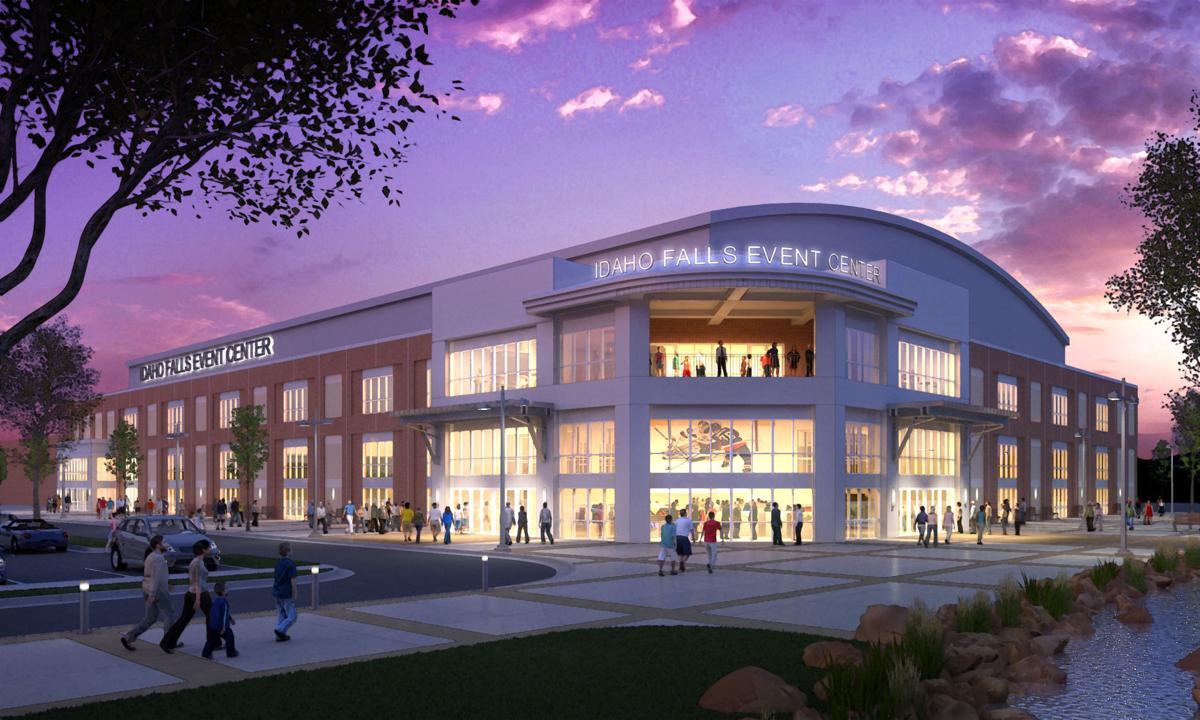 new event center rendering