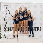 Skyline girls sprint medley relay