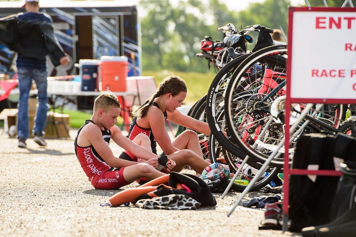 Fast fun at annual Rigby Triathlon