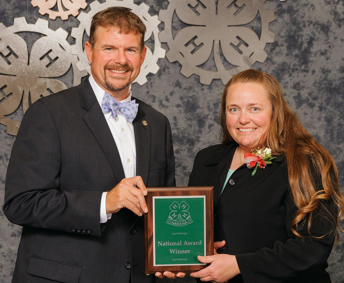 Extension educator earns top 4-H honor