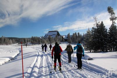 Yellowstone National Park Opens For Winter On Saturday