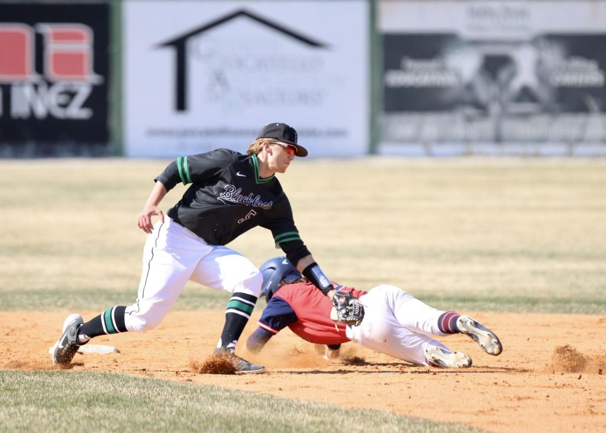Tyler Vance Blackfoot baseball