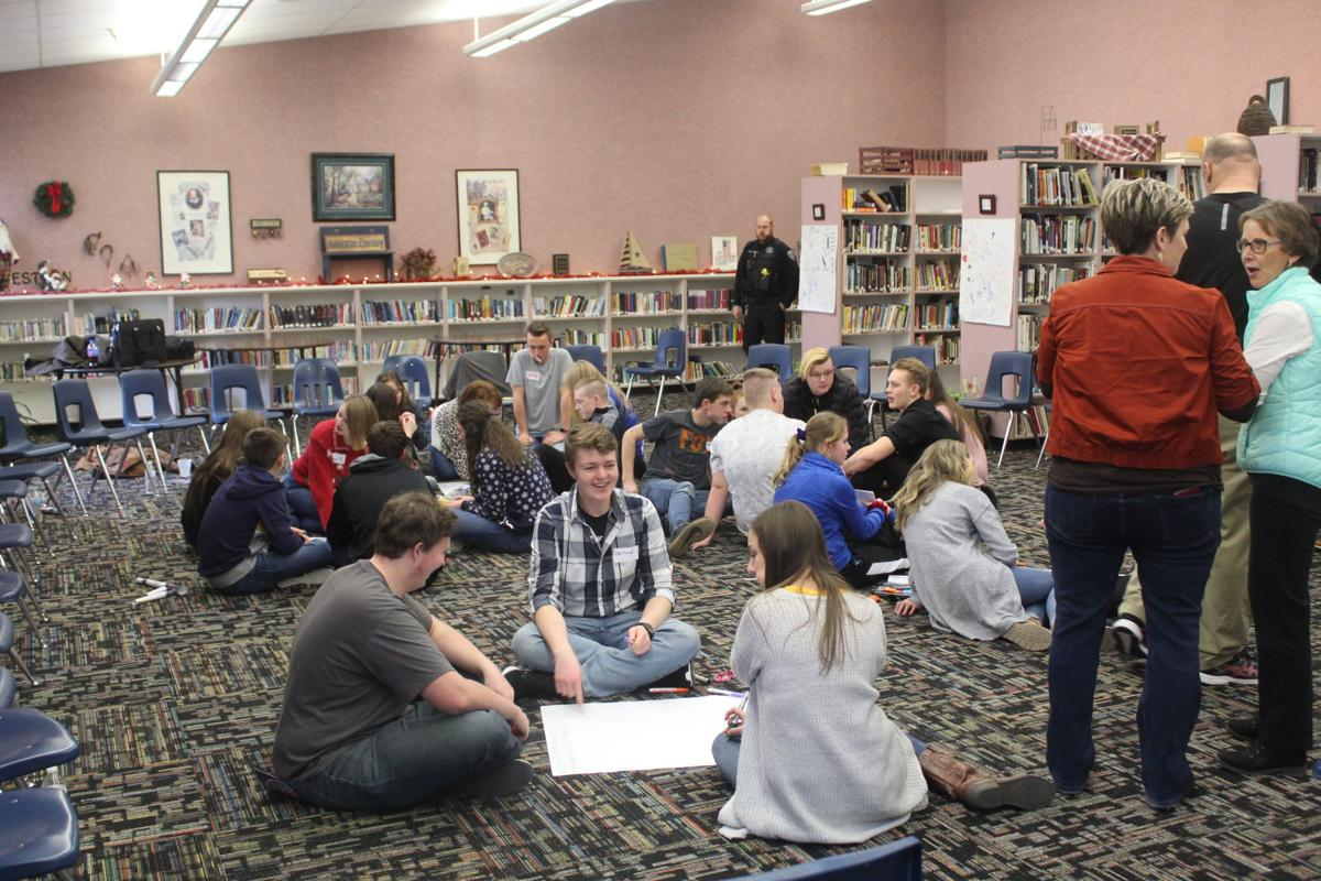 Sources of Strength provides leadership training to Firth students
