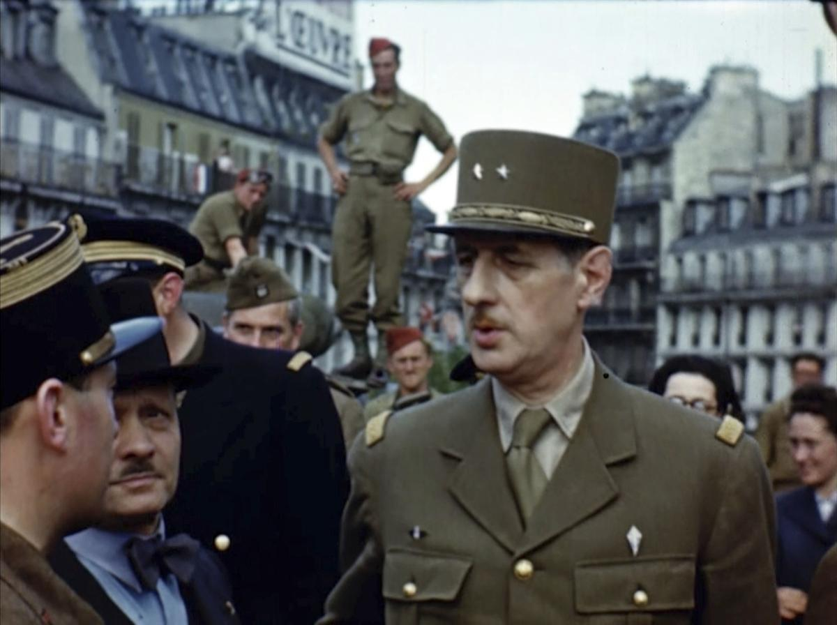 Color images from the D-Day invasion   News   postregister com