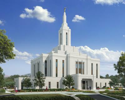 Pocatello LDS Temple Feb. 3