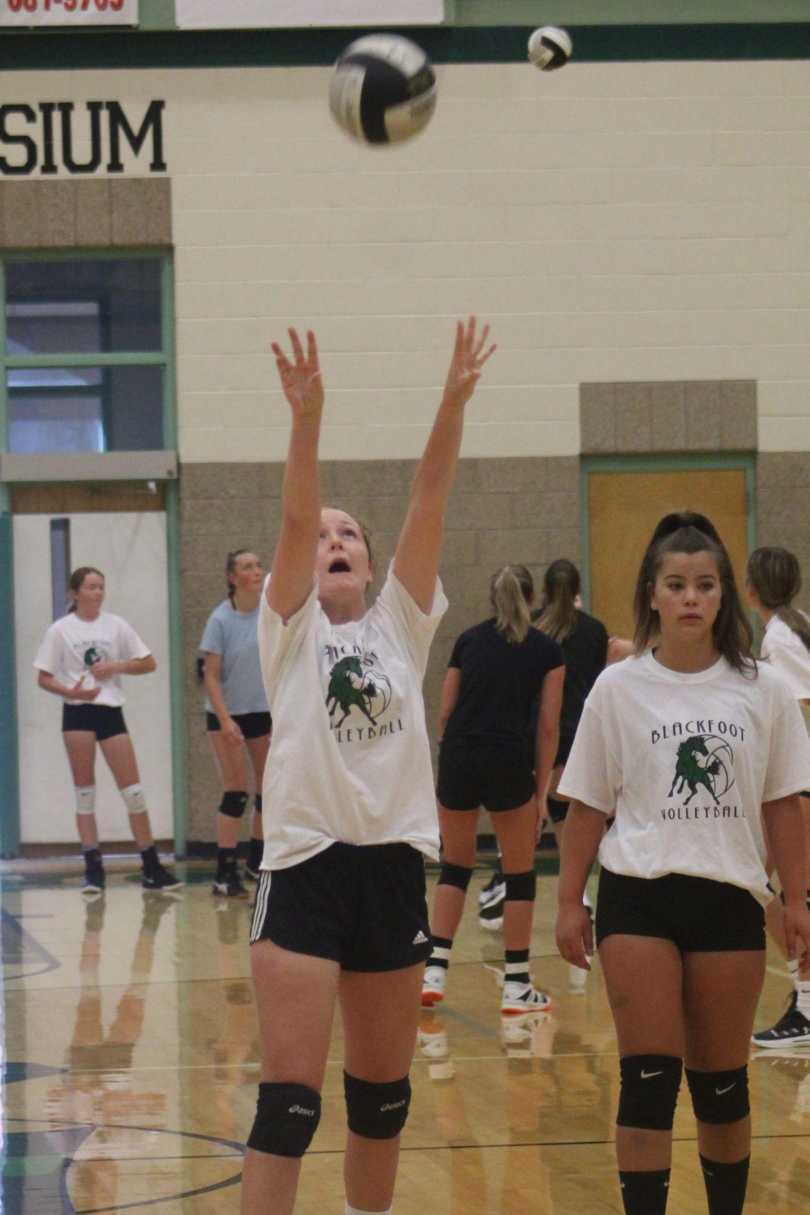 BHS hosts Varsity Volleyball Camp