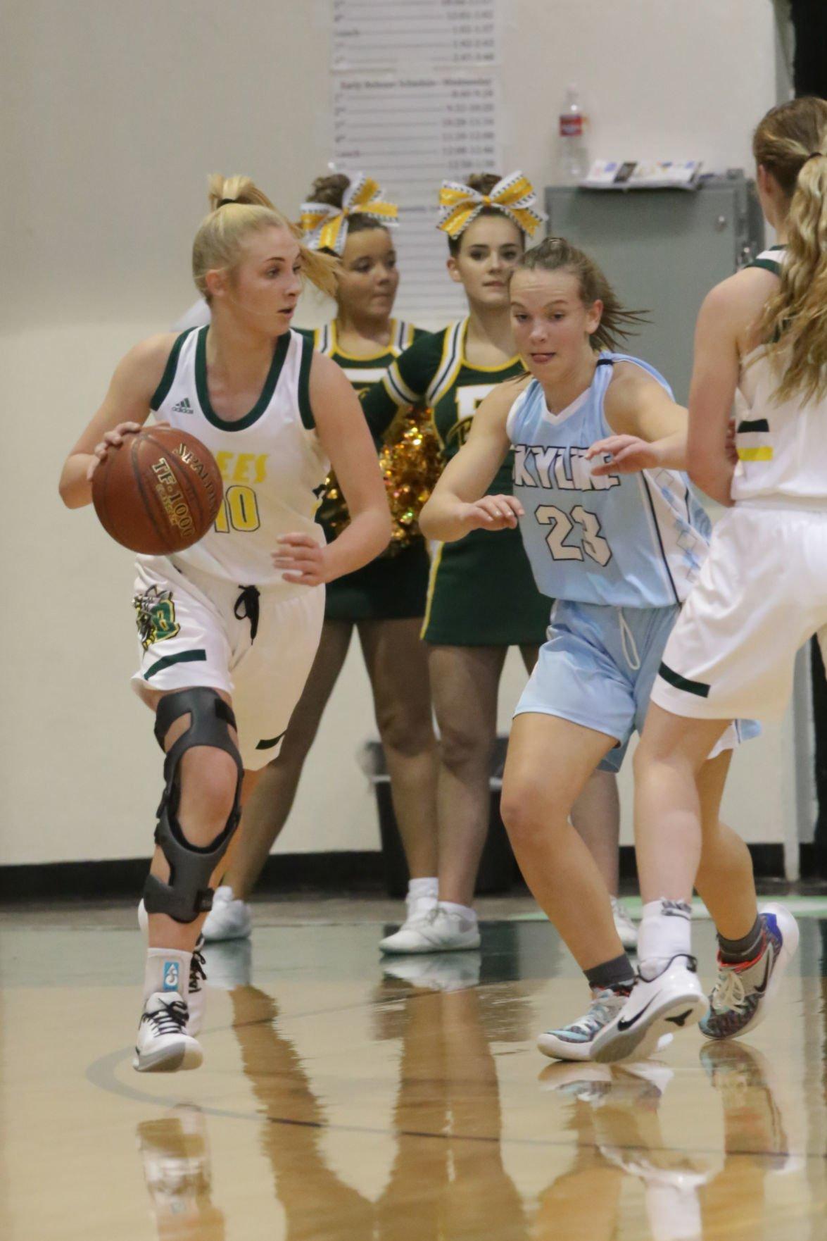 Bonneville vs Skyline girls basketball