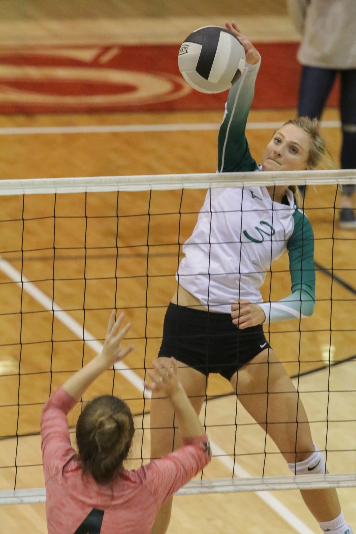 Bonneville vs Hillcrest volleyball