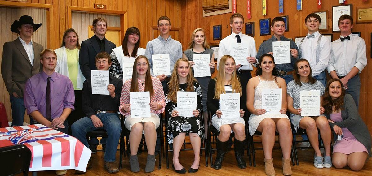 CHS inducts 11 into National Honor Society
