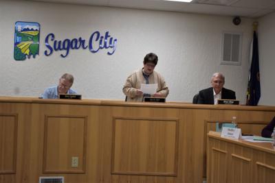 Sugar City Council meeting